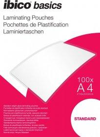 Folia do laminacji Ibico, 216x303mm, A4, 2x125 µm, 100 arkuszy