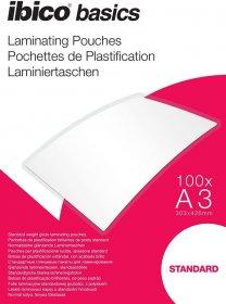 Folia do laminacji Ibico, 303x426mm, A3, 2x125 µm, 100 arkuszy