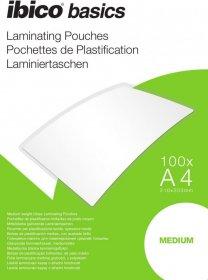 Folia do laminacji Ibico, 216x303mm, A4, 2x100 µm, 100 arkuszy