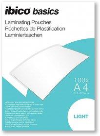 Folia do laminacji Ibico, 216x303mm, A4, 2x75 µm, 100 arkuszy