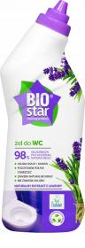 Żel do czyszczenia WC BioStar, ekologiczny, lawendowy, 750 ml