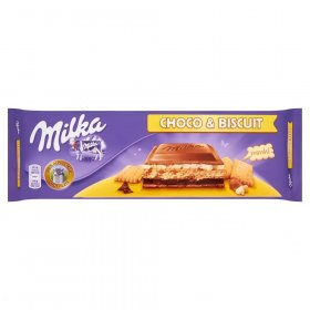 Czekolada Milka, Choco&Biscuit, 300g