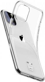 Etui silikonowe przezroczyste do Apple iPhone 11 Pro, przezroczysty