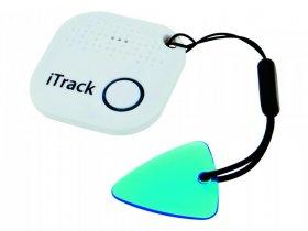Lokalizator (Smart Finder) iTrack, bluetooth, biały