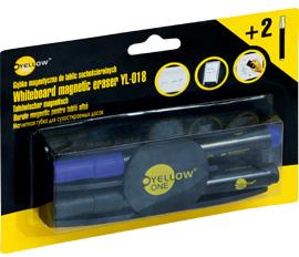 Gąbka do tablic suchościeralnych YellowOne YL-018 + 2 markery