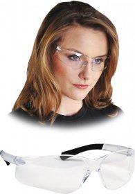Okulary ochronne przeciwodpryskowe MCR Bearkat TB, transparentno-czarny