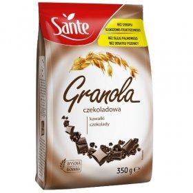 Granola Sante, czekoladowa, 350g
