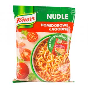 Zupa Knorr nudle, pomidorowa łagodna, 65g