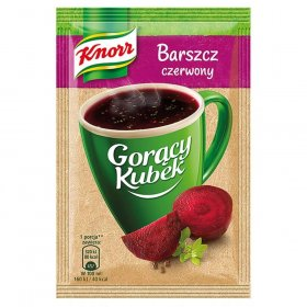 Zupa Knorr Gorący Kubek, barszcz czerwony, 14g