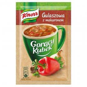 Zupa Knorr Gorący Kubek, gulaszowa z makaronem, 16g