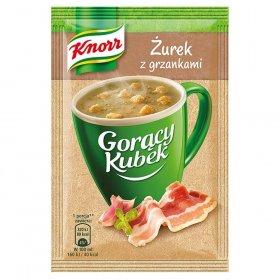 Zupa Knorr Gorący Kubek, żurek z grzankami, 17g