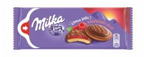 Biszkopty Milka Choco Jaffa, malinowy, 147g