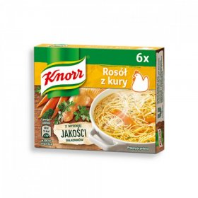 Bulion w kostkach Knorr, rosół z kury, 60g