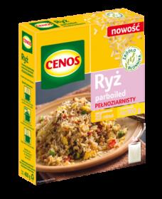 Ryż Cenos parboiled, pełnoziarnisty, 4x100g