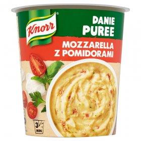 Danie błyskawiczne puree Knorr, mozzarella z pomidorami, kubek, 51g
