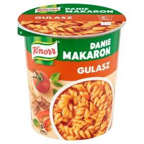 Danie błyskawiczne z makaronem Knorr, gulasz, kubek, 53g
