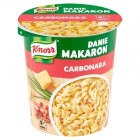 Danie błyskawiczne z makaronem Knorr, carbonara, kubek, 55g