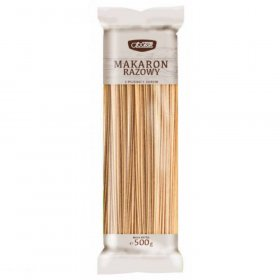 Makaron Społem, razowy, spaghetti, 500g