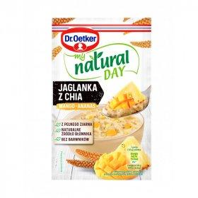 Jaglanka Dr.Oetker My Natural Day, mango/ananas/chia, 40g