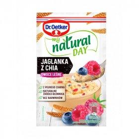 Jaglanka Dr.Oetker My Natural Day, owoce leśne/chia, 40g