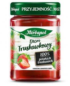 Dżem Herbapol, truskawkowy, niskosłodzony, 280g