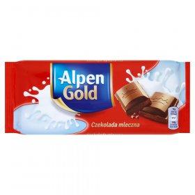 Czekolada Alpen Gold, mleczna, 90g