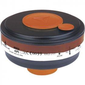 Filtry do maski M9000 EA2P3 (DX64), 4 sztuki, czarny (c)