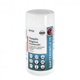 Chusteczki czyszcząco-dezynfekujące Itseptic, do powierzchni i sprzętu, 12x24 cm, 100 sztuk (c)