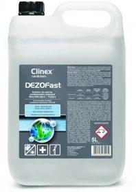 Preparat dezynfekująco-myjący Clinex Dezofast, 5l (c)
