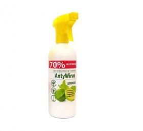 Płyn do dezynfekcji rąk Kala Lemongrass, 70% alk., 500ml (c)