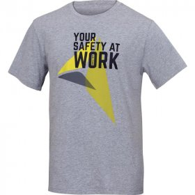 T-shirt Delta Plus Roma, 100% bawełny, gramatura 180g, rozmiar M, szary