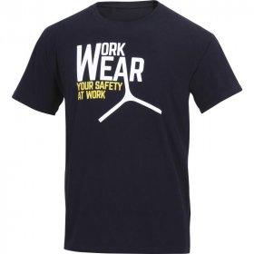 T-shirt Delta Plus Lazio, 100% bawełny, gramatura 180g, rozmiar L, czarny