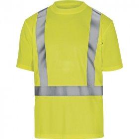 T-shirt ostrzegawczy Delta Plus Comet, gramatura 160g, rozmiar XL, żółty