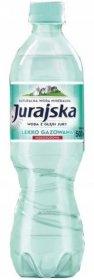 Woda lekko gazowana Jurajska, 0.5l