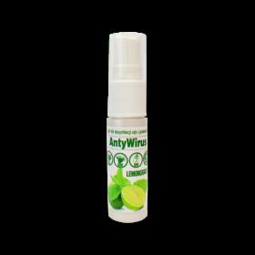 Płyn do dezynfekcji rąk Kala AntyWirus Lemongrass, personalny, 70% alk., 15 ml (c)