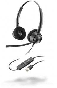 Słuchawki przewodowe Plantronics EP320 EncorePro 320 USB-A, czarny