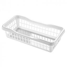Koszyk ażurowy Plafor 1, 200x100x50mm, 1l, biały