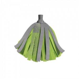 Mop paskowy York Passion - końcówka, szaro-zielony