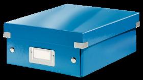 Pudło z przegródkami Leitz Click&Store Wow, małe, niebieski