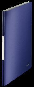 Album ofertowy Leitz Style, A4, 20 koszulek, niebieski