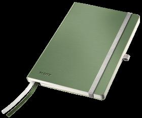 Notatnik w kratkę Leitz Style, A5, miękka oprawa, 80 kartek, seledynowy