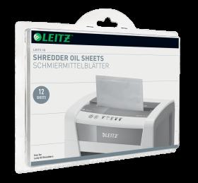 Arkusze olejowe do niszczarek Leitz IQ, 12 sztuk