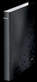 Segregator ringowy Leitz Wow, A4+, szerokość grzbietu 40mm, 4 ringi, czarny