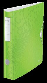 Segregator Leitz 180° Active Wow, A4, szerokość grzbietu 65mm, do 350 kartek, zielony
