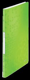 Album ofertowy Leitz Wow, A4, 20 koszulek, zielony