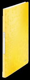 Album ofertowy Leitz Wow, A4, 20 koszulek, żółty
