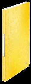 Album ofertowy Leitz Wow, A4, 40 koszulek, żółty