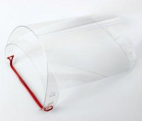 Przyłbica ochronna, wielokrotnego użytku, 2 sztuki