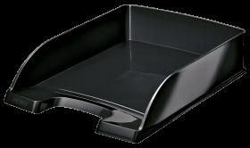 Półka na dokumenty Leitz Plus Wow, A4, plastikowa, czarny