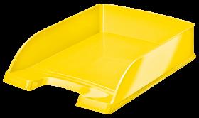 Półka na dokumenty Leitz Plus Wow, A4, plastikowa, żółty